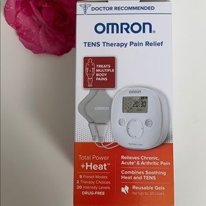 Omron Tens Therapy Pain Relief. Total Power + Heat
